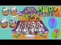 Let's open Plants VS Zombies 2  PVZ 2 Lego Minifigures Surprise Eggs Toys DIY