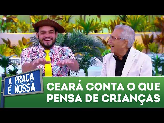 Ceará conta o que pensa de crianças | A Praça É Nossa (01/11/18)