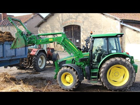 essai tracteur john deere 5100r test drive avis et commentaires youtube. Black Bedroom Furniture Sets. Home Design Ideas