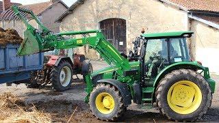 Essai tracteur John Deere 5100R - Test drive - Avis et commentaires