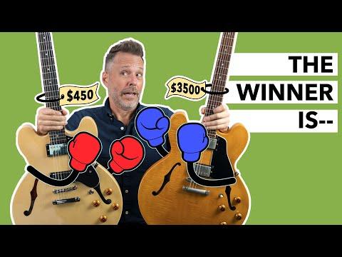 Gibson 335 Dot vs Epiphone Dot