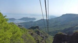 新緑の小豆島 県道29号線~寒霞渓ロープウェイ thumbnail