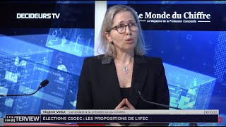 L'interview : Elections au CSOEC, les propositions de l'IFEC