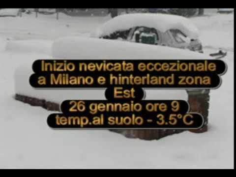 Vimodrone ~ Segrate (Milano) Neve 26-27-28 Gennaio 2006