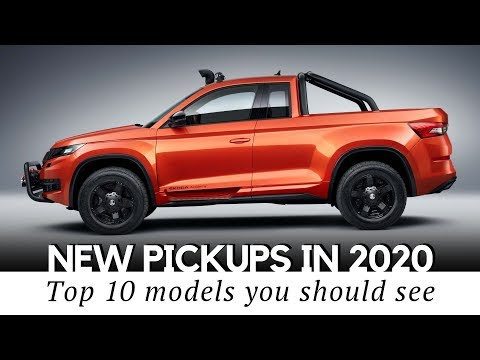 Top 10 Upcoming Pickup Trucks You Should Buy in 2020 Model Year