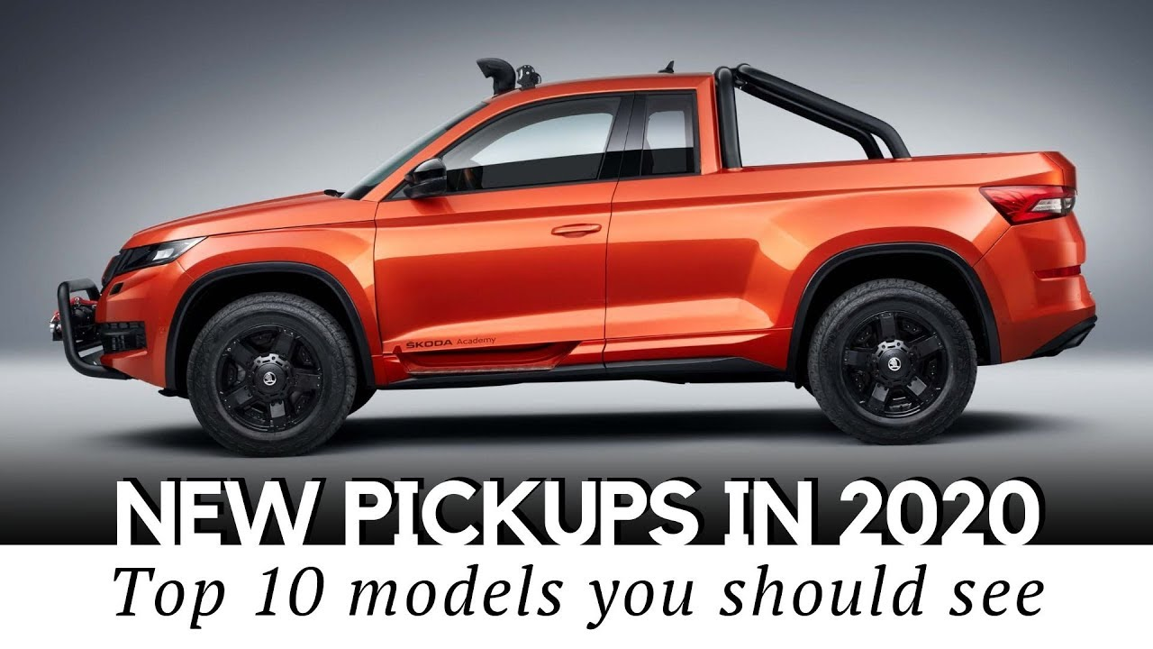Top 10 Upcoming Pickup Trucks You Should Buy In 2020 Model Year Youtube
