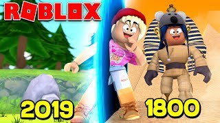 TRAVELS 200 YEARS BACK IN TIME IN ROBLOX!