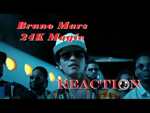 Bruno Mars - 24K Magic: REACTION