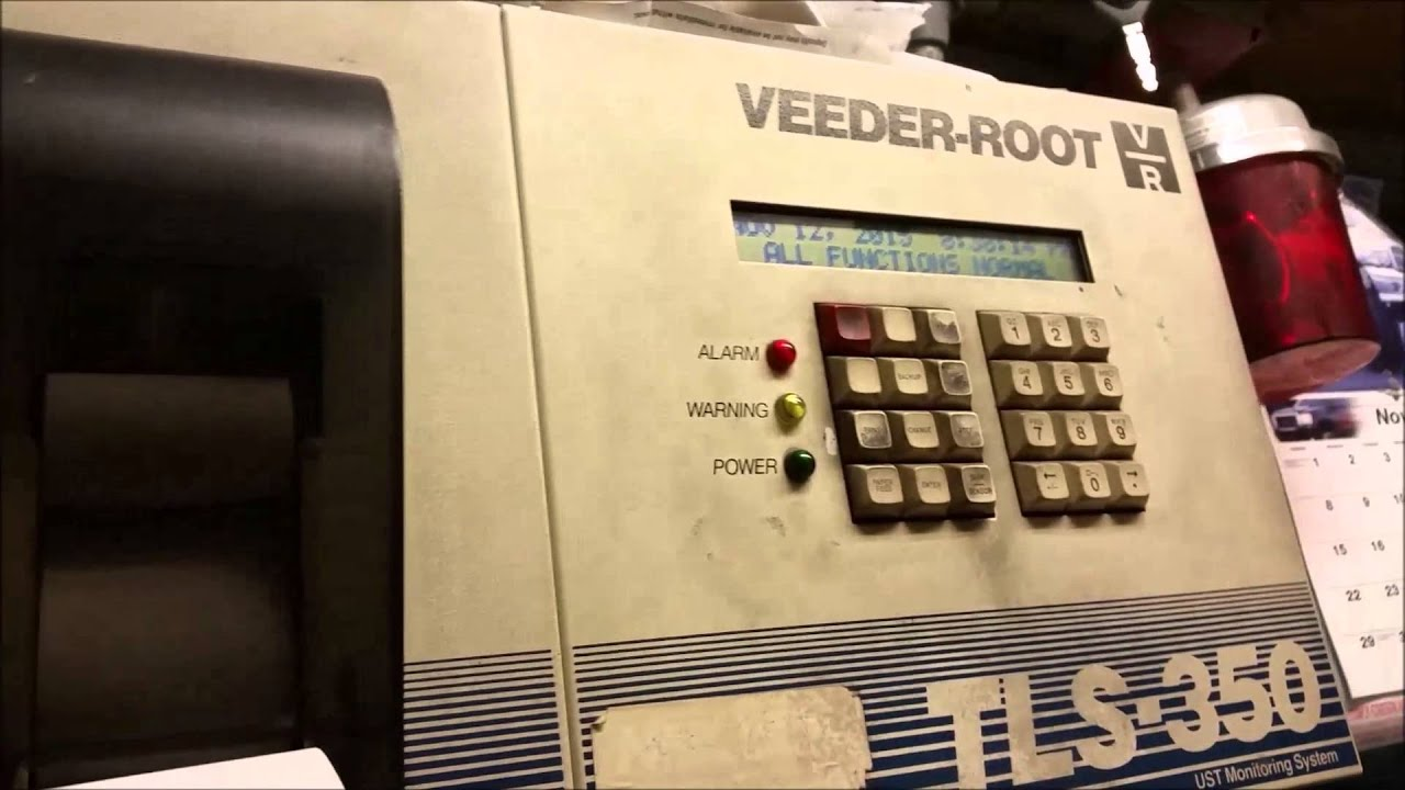 How To Replace Veeder Root Paper