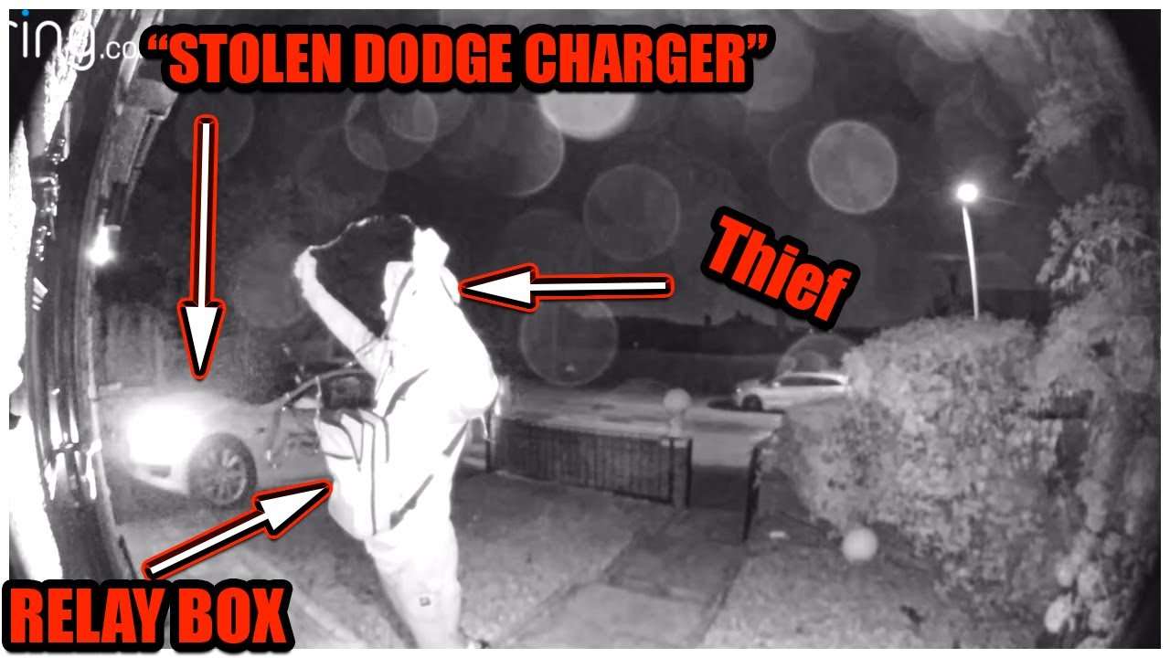 """RELAY HACK"" allows THIEVES to STEAL DODGE CHARGER 392 SCAT PACK in under ONE MINUTE.(MUST WATCH)!!!"