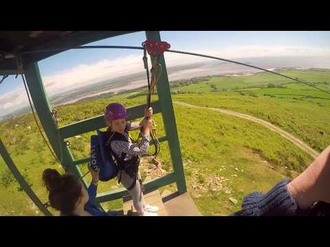 Laggan Outdoor Zip Wire Dumfries & Galloway - GoPro 4k
