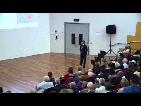 Exercise is Medicine: Prof Rob Newton, The West Australian - ECU Lecture Series