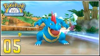 PokéPark Wii Capítulo 5 - EL PODEROSO FERALIGATR Y MEGA RETO DE GYARADOS