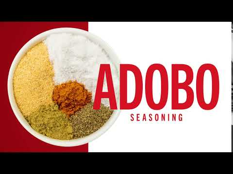 How To Make Homemade Adobo Seasoning How To Mccormick Youtube