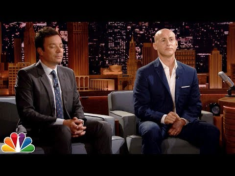 Andy Puddicombe Guides Jimmy Through a Two-Minute Headspace Meditation