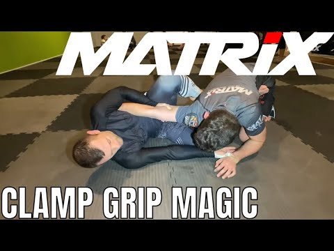 Clamp Grip from Open Guard and Bottom Sidemount - Matrix Jiu Jitsu
