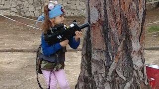 Стрелялки.Лазерное ружье.Игра в войнушки.Видео для детей.Игра для детей.