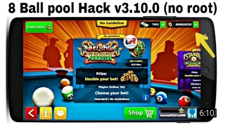 8 ball pool hack 3.10.0 Android/IOS unlimited anti ban long lines mod 2017*