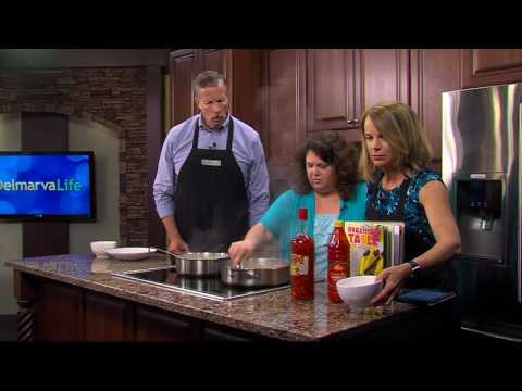 Meg Hudson, Owner of Lula Brazil Joins Us in the Kitchen to Make a Brazilian Dish with Shrimp