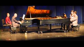 Piazzolla - Libertango for two pianos at the Lied Center | Daniel Cunha & Evangelos Spanos