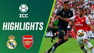 Real Madrid vs Arsenal 2-2 (3-2) | Highlights ICC 2019