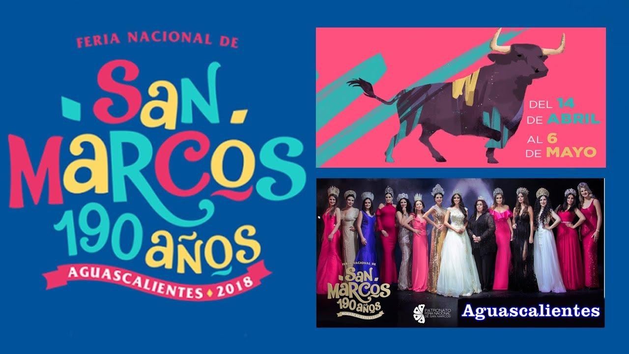 Feria De San Marcos Aguascalientes 2018 - YouTube
