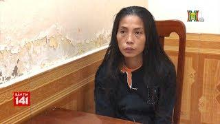 C.A.Q Ba Đình bắt đối tượng là phụ nữ chuyên trộm cắp tại nhà chờ xe buýt | Nhật ký 141