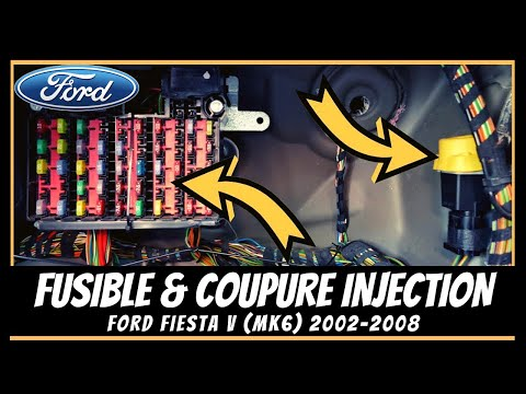 Ford Fiesta Mk6 Bo 238 Te 224 Fusibles Et Coupure D