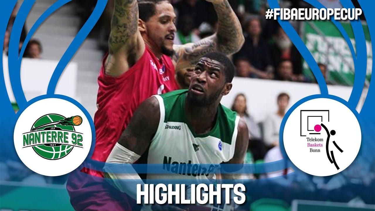 Highlights: Nanterre 92 (FRA) v Telekom Baskets (GER) - Semi-Final