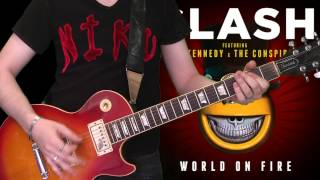 Slash & Myles Kennedy - World On Fire (full guitar cover)