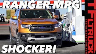 Unexpected Results! You'll Be Surprised By The New Ford Ranger's Highway Fuel Economy