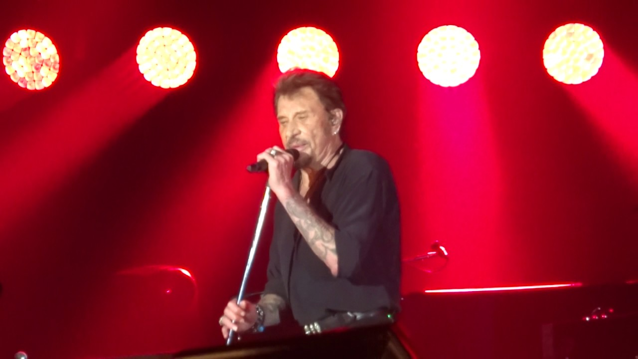 johnny hallyday allumer le feu halle tony garnier lyon youtube. Black Bedroom Furniture Sets. Home Design Ideas