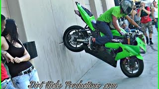 FRANCISCO ESCOTO - STUNT RIDING, STOPPIE STALLS + MORE!  MIDDLE OF THE MAP LOT SESH
