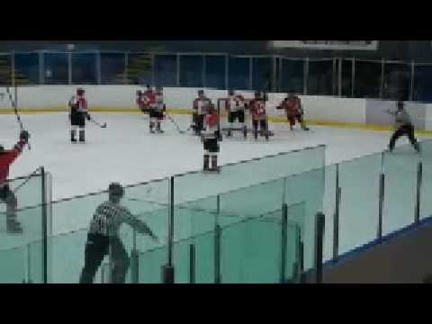 PIJHL North Delta Devils at Richmond Sockeyes Mar 9 09 Highlights