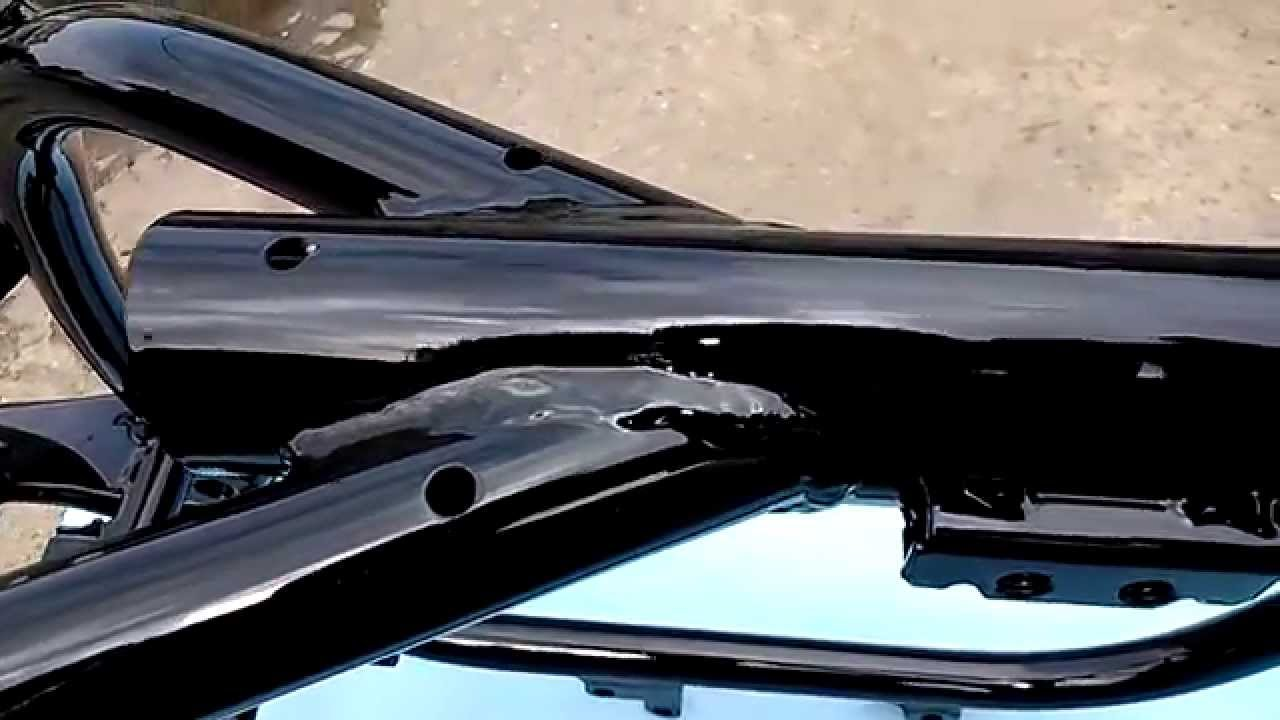 Bardzo dobry Malowanie proszkowe ramy BMW - YouTube UE04