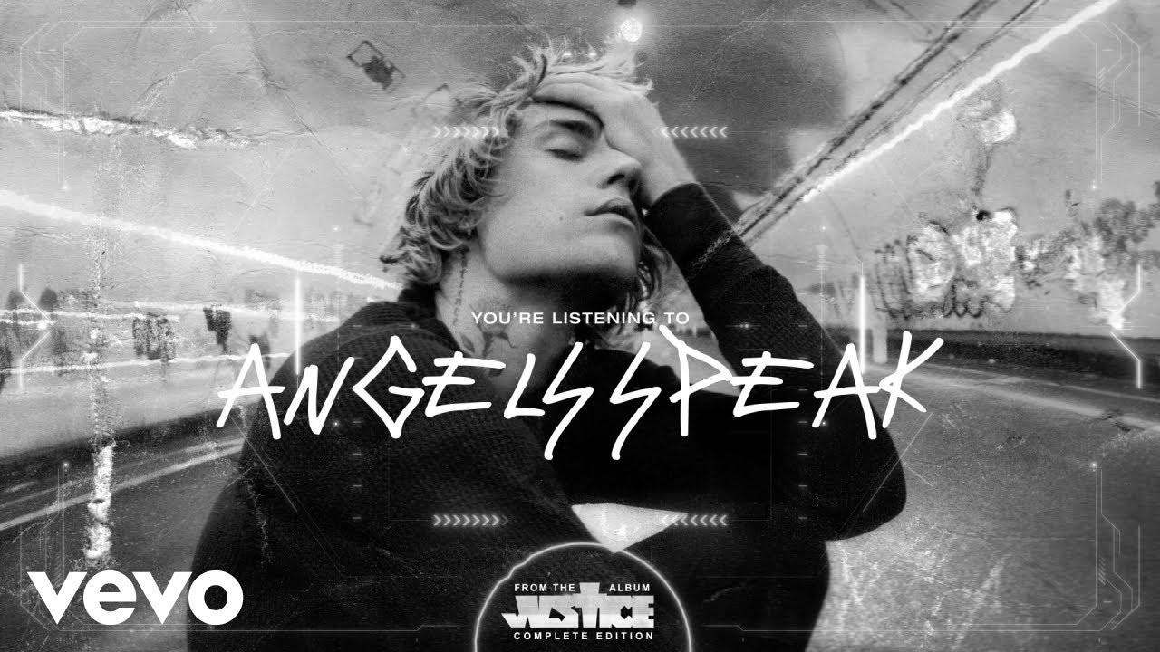 Justin Bieber - Angels Speak ft. Poo Bear (Visualizer)
