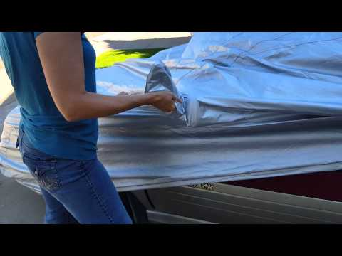 JC Whitney Car Cover Doesn't Fit