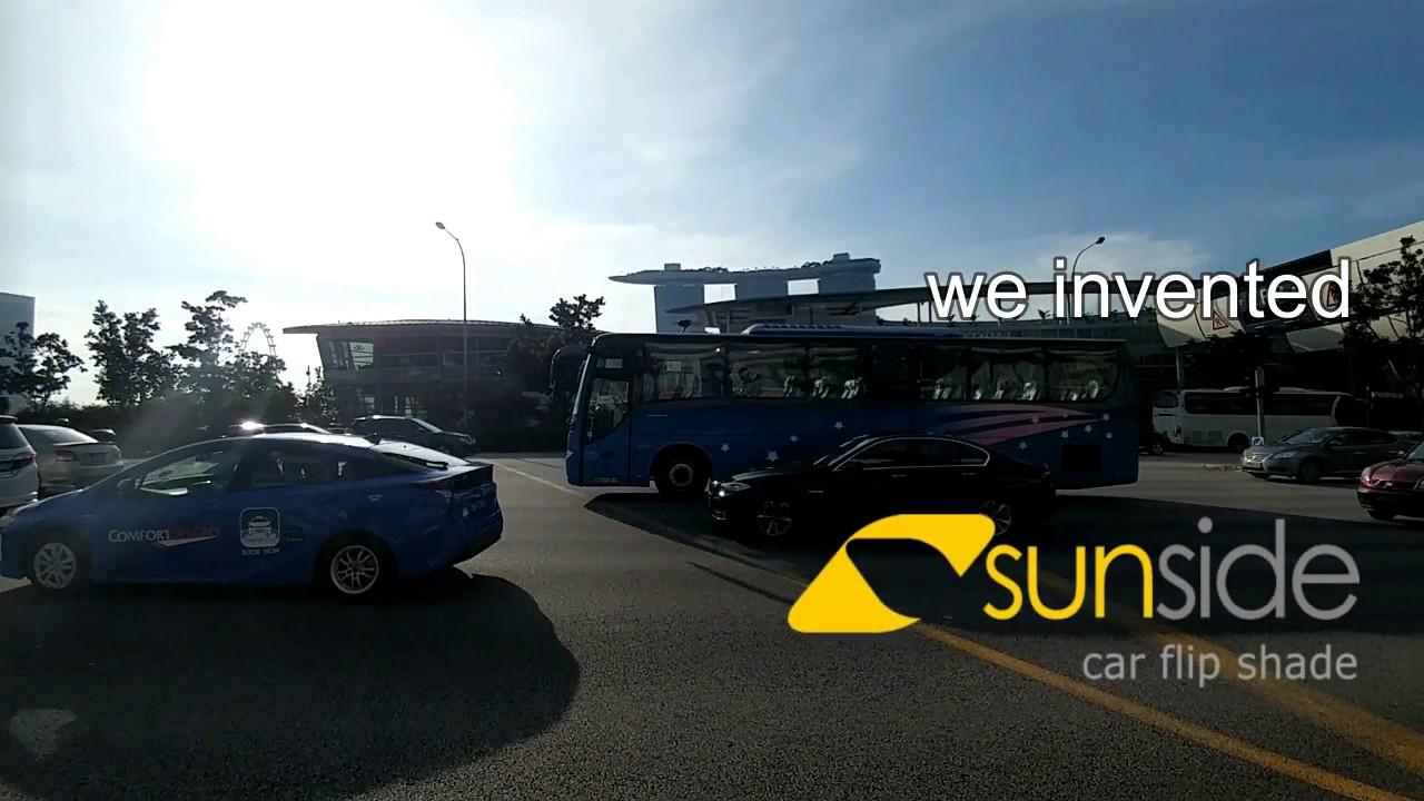 Sunside Smart Car Sunshade