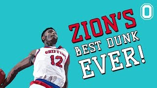 Zion Williamson's BEST DUNK EVER! Almost Goes Blake Griffin! ALLEY OOPS AND 360!