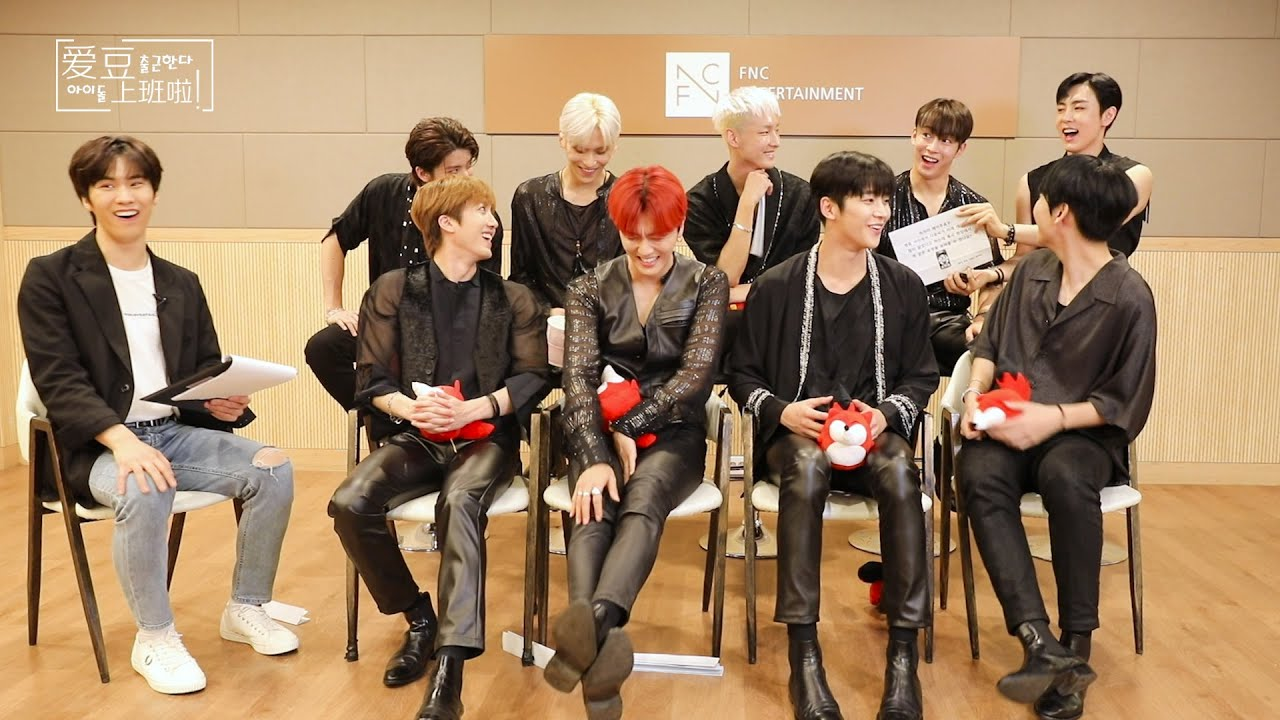 SF9】20200729 SF9 SOHU KOREA interview with MC ROCKY 인터뷰 ...