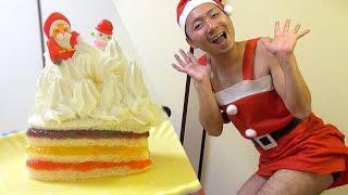 ☆クリスマスケーキ食パン☆超簡単で超美味しい!!超かわいい!!?