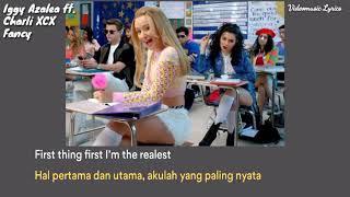 Iggy Azalea - Fancy ft. Charli XCX Lyrics (Eng / Indo)