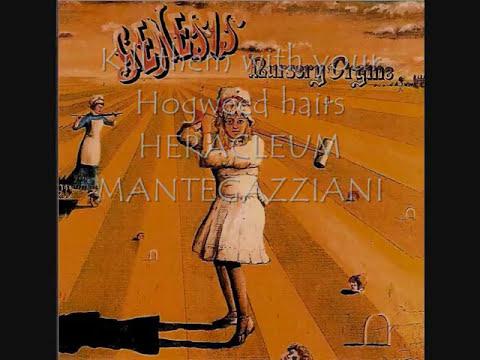 Genesis - The Return Of The Giant Hogweed (1971) (+Lyrics)