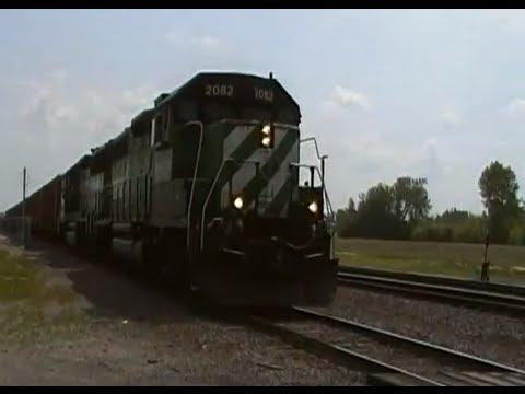 BNSF 2082 in Wahpeton North Dakota