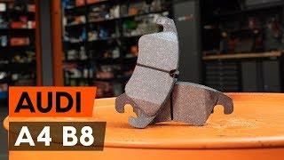 Wie AUDI A4 (8K2, B8) Bremssattel Reparatursatz austauschen - Video-Tutorial