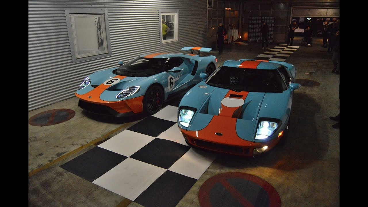 First  Ford Gt Delivery In Denmark And One Of First In Europe