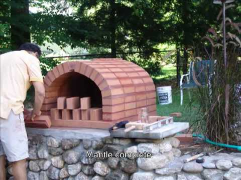 brick pizza oven youtube