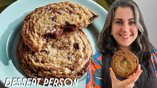 Claire Saffitz Makes CHOCOLATE CHIP COOKIES | Dessert Person