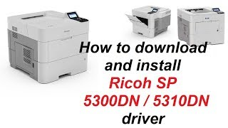 ricoh sp 3500n driver video, ricoh sp 3500n driver clips
