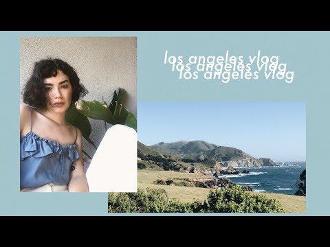 L.A. Vlog • Eat Drink Vegan + Connan Mockasin